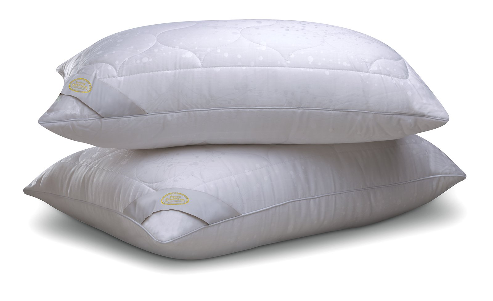 white boutique COTTONA Tencel- Luxury Pillow- Return Volume- Hypoallergenic- for-Cool Sleeping- Pack of 2