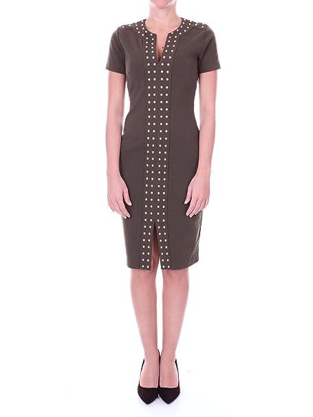 MICHAEL Michael Kors MU78WZS1WL Vestiti Donna Verdone S  Amazon.it ... 4480670f032