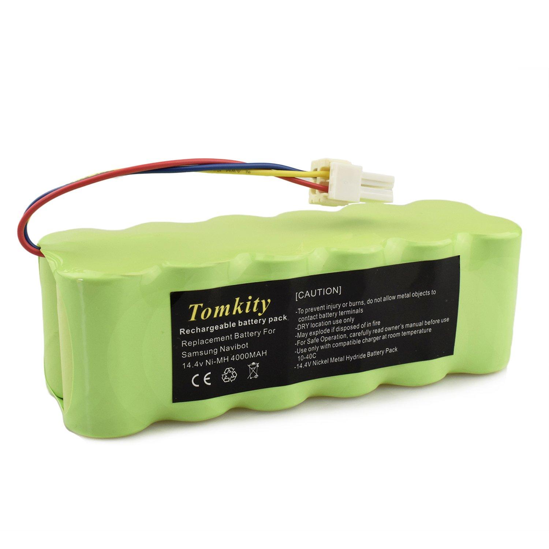 Tomkity 4000mAh Batería pour Samsung Navibot SR8825 SR8840 SR8845 SR8855 SR8730 SR8750 VCR8845 VCR8855 VCR8895: Amazon.es: Bricolaje y herramientas
