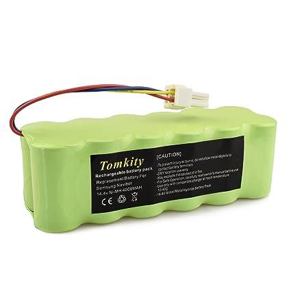 Tomkity 4000mAh Batería pour Samsung Navibot SR8825 SR8840 SR8845 SR8855 SR8730 SR8750 VCR8845 VCR8855 VCR8895