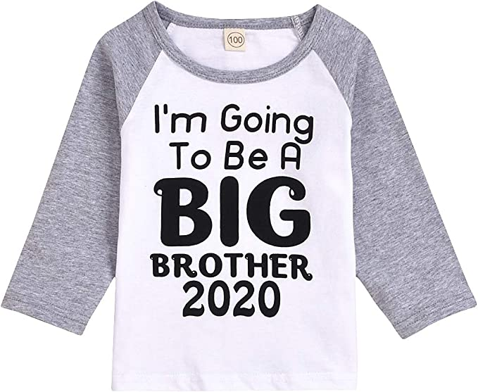 I/'m Going To Be A Big Sister Long Sleeve T-Shirt Pregnancy Announcement Shirt