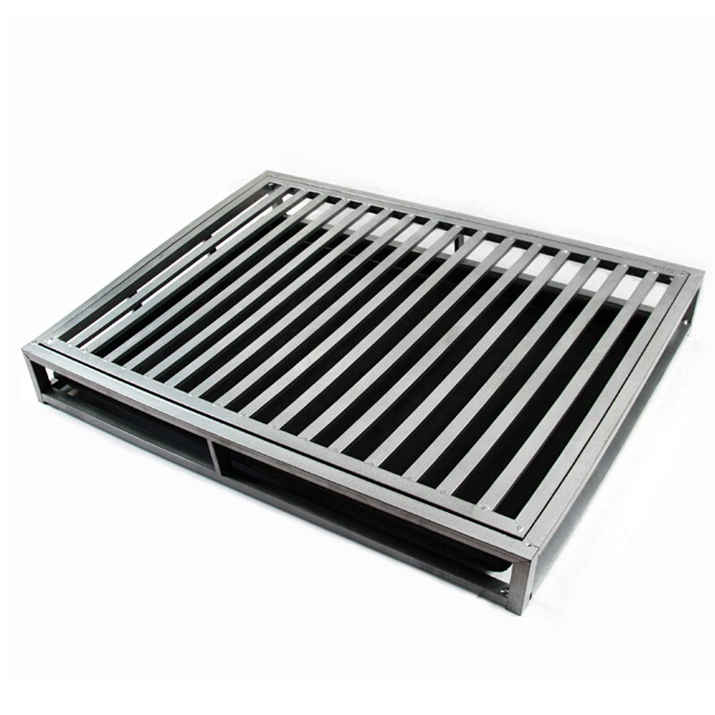 DIAOSI Goucesuo paint full square tube reinforcement large metal dog toilet  No urine pad  Medium and large dogs