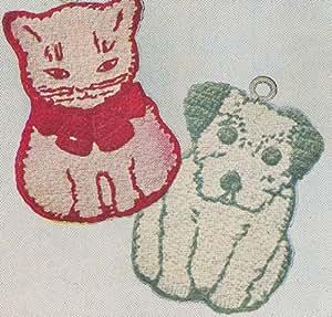 Amazon Com Vintage Crochet Pattern To Make Pot Holder