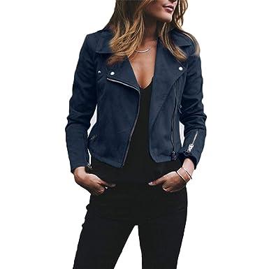 Gouache Leather Jacket Cool Lapel Zipper Coat Biker Motorcycle Jackets