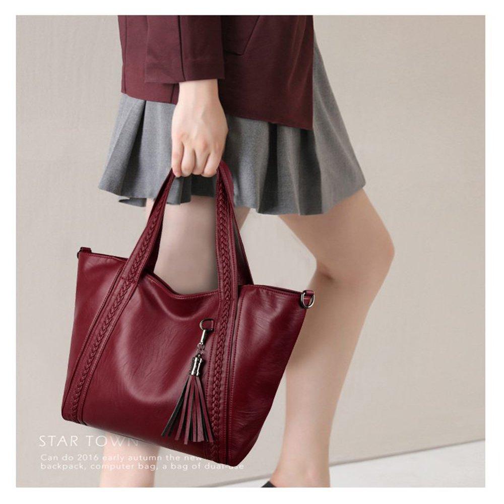 Jenify Ms Messenger Bags Women Bag Leather Handbags Women Totes Shoulder Bags Large Capacity Waterproof