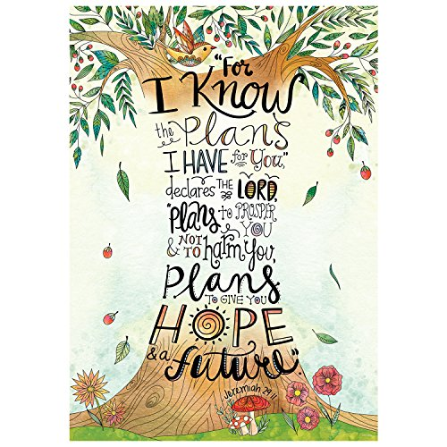 (Creative Teaching Press Wall Décor, Religious Jeremiah 29:11 Rejoice Inspire U Poster (2303))