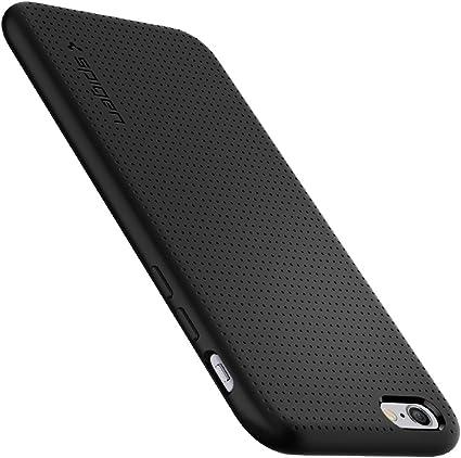 Spigen Liquid Air Works with Apple iPhone 6S Case - Black: Amazon ...