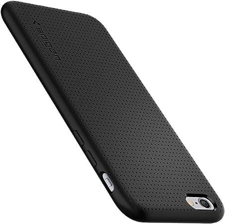 Spigen Cover iPhone 6S, Cover iPhone 6 Capsule Progettato per iPhone 6S / 6 Cover Custodia - Nero