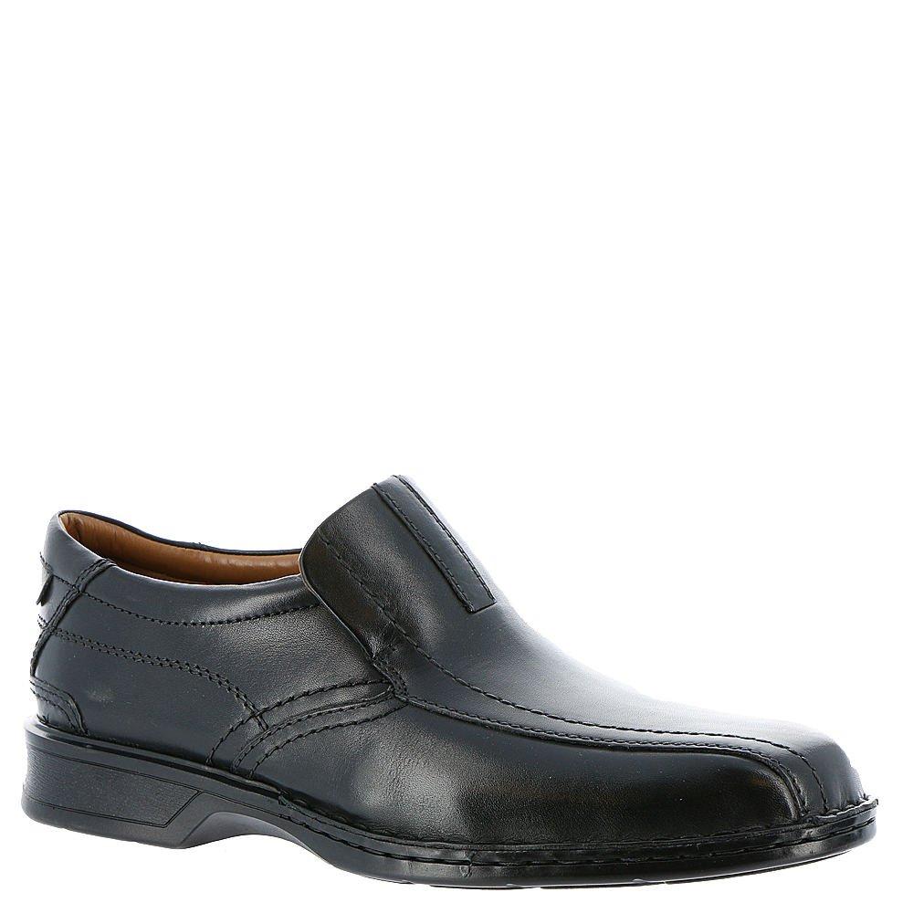 CLARKS Men's Black Leather Escalade Step 8.5 D(M) US