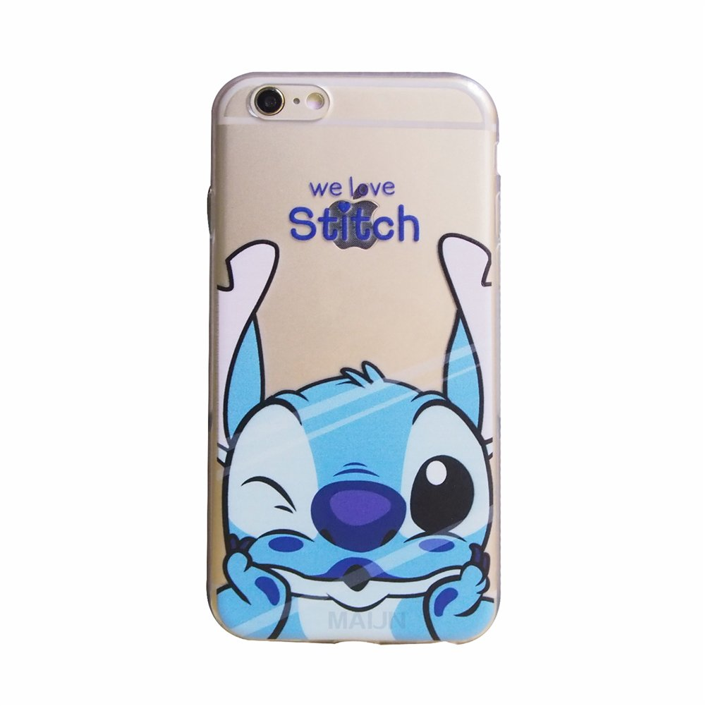 coque iphone 6 transparente stitch