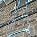 """Saf-Escape 2 Story 15' Portable Escape Ladder - Fits up to 14"""" Thick Walls!"""