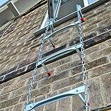 Saf-Escape 2 Story 15' Portable Escape Ladder - Fits up to 14