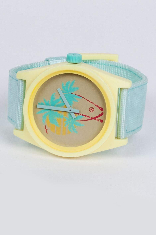 neff Men's Analog-Quartz Sport Watch with Plastic Strap, Multi, 23 (Model: NF0208-4