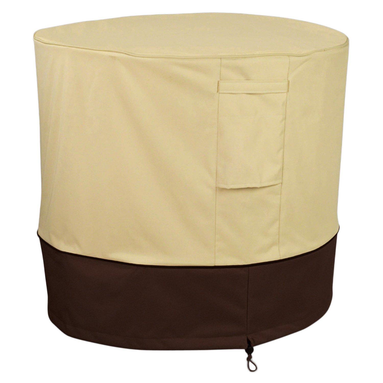 Pagacat Waterproof Outdoor Veranda Air Conditioner Cover for All Seasons(Round)