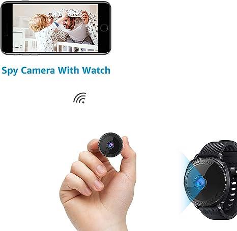 AOBO Spy Camera 1080P HD Hidden Wireless WiFi IP Mini Home Indoor Security Nanny