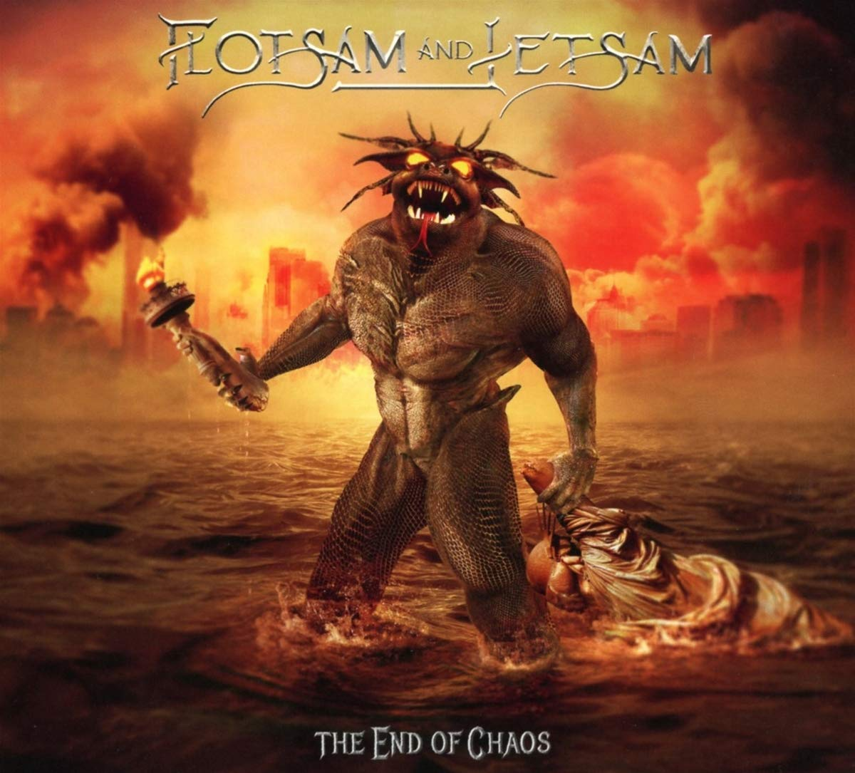 CD : Flotsam & Jetsam - The End Of Chaos (CD)