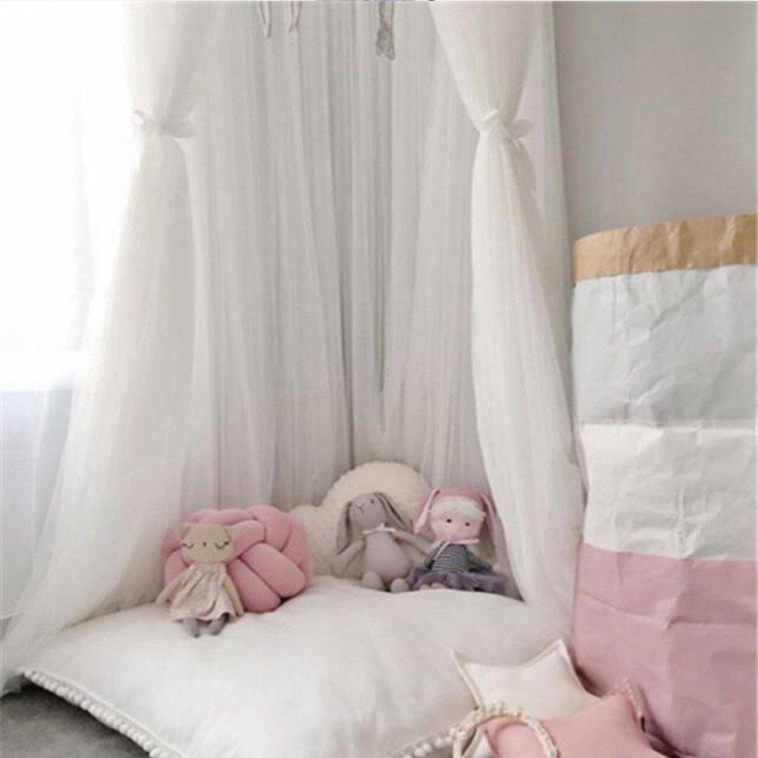 Freahap Betthimmel Baby Moskitonetz Insektenschutz Fur Kinder Babys Grau