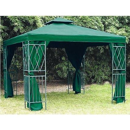 Cubierta para cenador de color verde 3 x 3 metros (300 x 300 cm ...