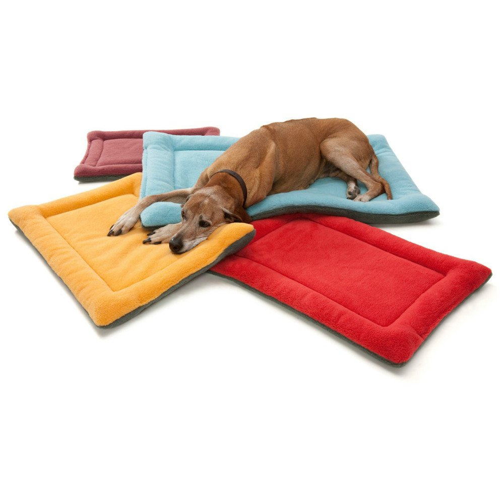 Gowild Dog Beds Cat Crate Pad Puppy Seat Mat Pet Bed Fleece Small Medium Large Washable