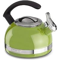 KitchenAid KI979AN Chaleira com Apito, Verde (Sunkissed Lime), 1.9L