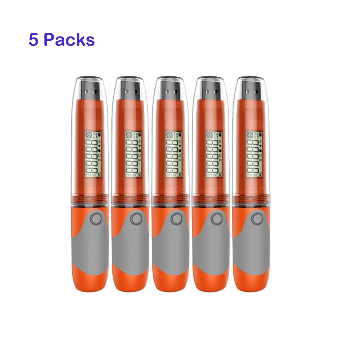 Registrador de datos USB Elitech RC-51 (5 packs)