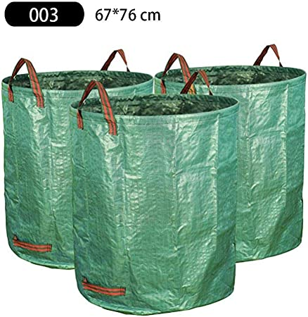whelsara 3 Piezas Bolsas De Almacenamiento Jardín Bolsas Hojas Jardinería Bolsa Césped Pesado Reutilizable Bolsa De Desechos Hojas Jardín Bolsa De Compost Probiótico Fermentación Cocina Classic: Amazon.es: Hogar
