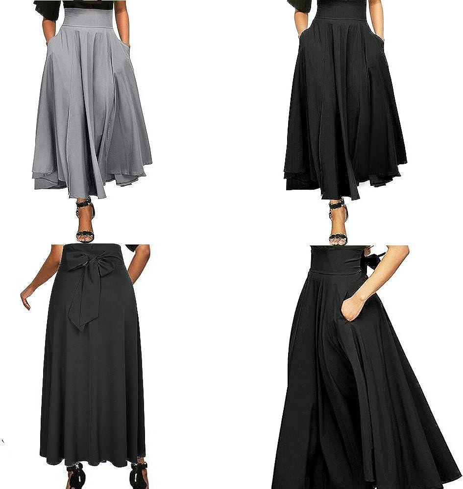 LILICAT❋ Corte Lateral con Falda, Vestido Vintage, Falda Larga ...