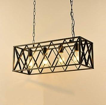 Chandelier Arte Moderno iluminación del Viento Industrial ...