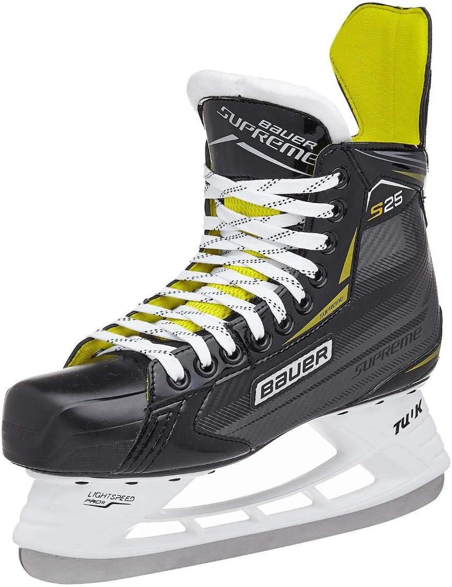 Bauer Supreme S25 Junior Ice Hockey Skates Tuuk Steel Blades Sizes 1.0-5.0