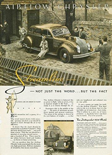 - 1934 CHRYSLER AIRFLOW EIGHT Six-Passenger SEDAN