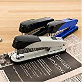 Treading - Heavy-Duty stapler for 24/6 or 24/8 staples Holding 150pcs staples binding 50sheets paper office Efficient useful binding supply