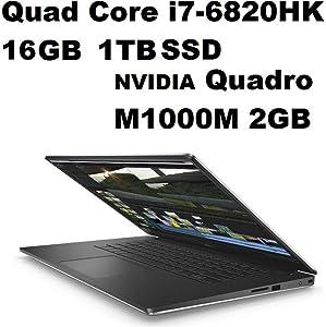 Dell Precision 5000 M5510 Mobile Workstation: Intel Quad Core i7-6820HQ 2.7GHz | 1TB SSD | 16GB | 15.6in (1920x1080) FHD | NVIDIA Quadro M1000M 2GB Graphics - Windows 10 Pro (Renewed)