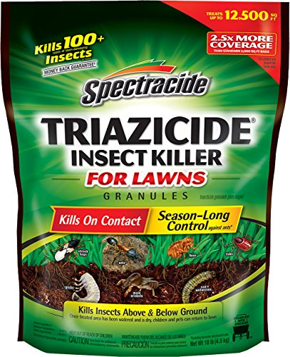 Spectracide Triazicide Insect Killer For Lawns Granules (HG-53944) (Pack of 4)