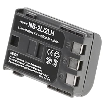 Canon EOS Digital Rebel XTi Battery - Canon NB-2LH Battery for Canon Camera  & Video Camera - Olympia Battery Brand