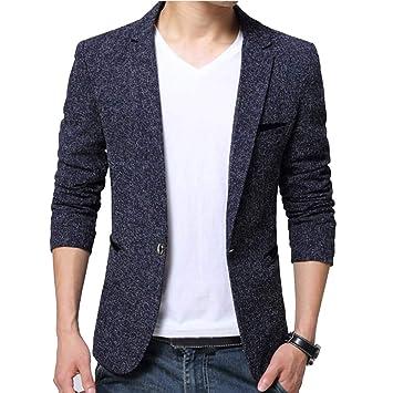 Guiran Hombres Chaquetas De Traje Y Americanas Informal Business Casual Blazer Slim Fit