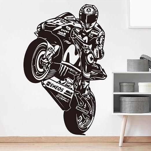 zzlfn3lv Valentino Rossi The Doctor Motociclismo Tatuajes de Pared ...