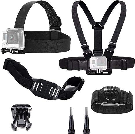 tekcam Kit de accesorios de la cámara de acción compatible con ...