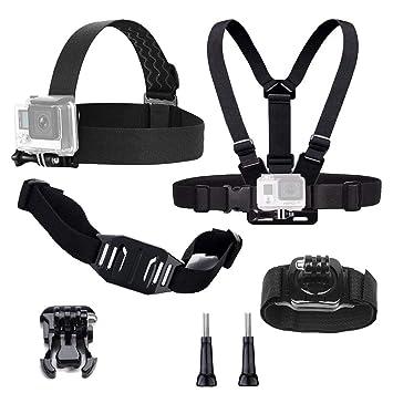 tekcam Basic Kit de accesorios de la cámara de acción para GoPro Hero6 5 negro Hero