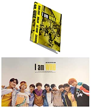 I am WHO 2nd Album STRAY KIDS [WHO ver ] KPOP Music CD + Photo Book + 3 QR  Photo Cards + Lyrics Poster + Special Gift (4 Photo Cards Set) Sealed