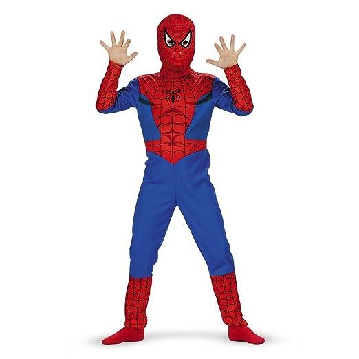 Spiderman Classic Costume - Size: Child L(10-12)