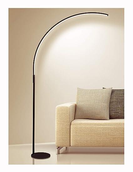 LIHUA Lámpara de pie LED Lámpara de pie Moderna Lectura ...