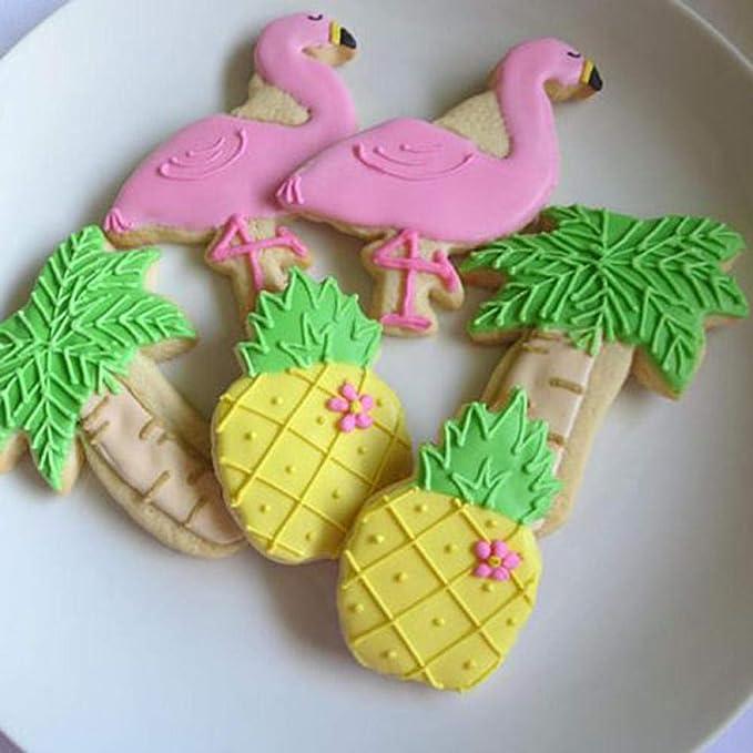 QUQUET 1pcs Cumpleaños Unicornio Llama Sirena Flamingo Cake ...