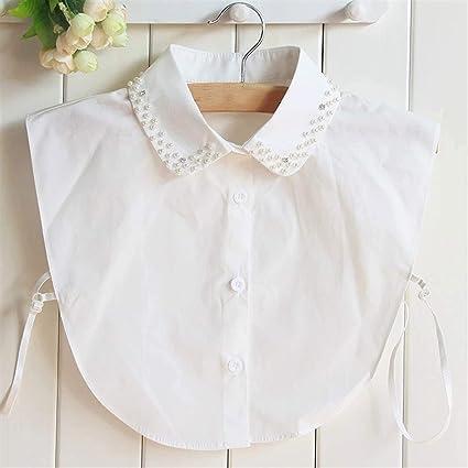 Ztengyu-Cuello de imitación Cuello Desmontable de la Camisa ...