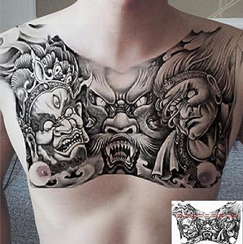 Cofre de flores pegatinas de tatuaje de Buda de tres caras cofre ...