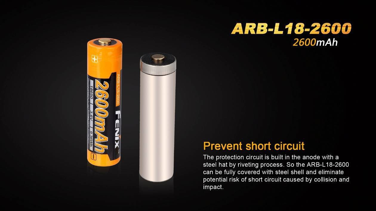 2 Pack Fenix Arb L18 2600 Protected 18650 2600mah Details About 3 X Case Battery Box With Protection Circuit 37v Rechargeable Li Ion Batteries Edisonbright Bbx3 Carry Designed For Tk75