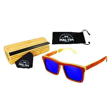 Gafas de Sol de Madera de Arce – Estilo Wayfarer - 100% Hechos a Mano