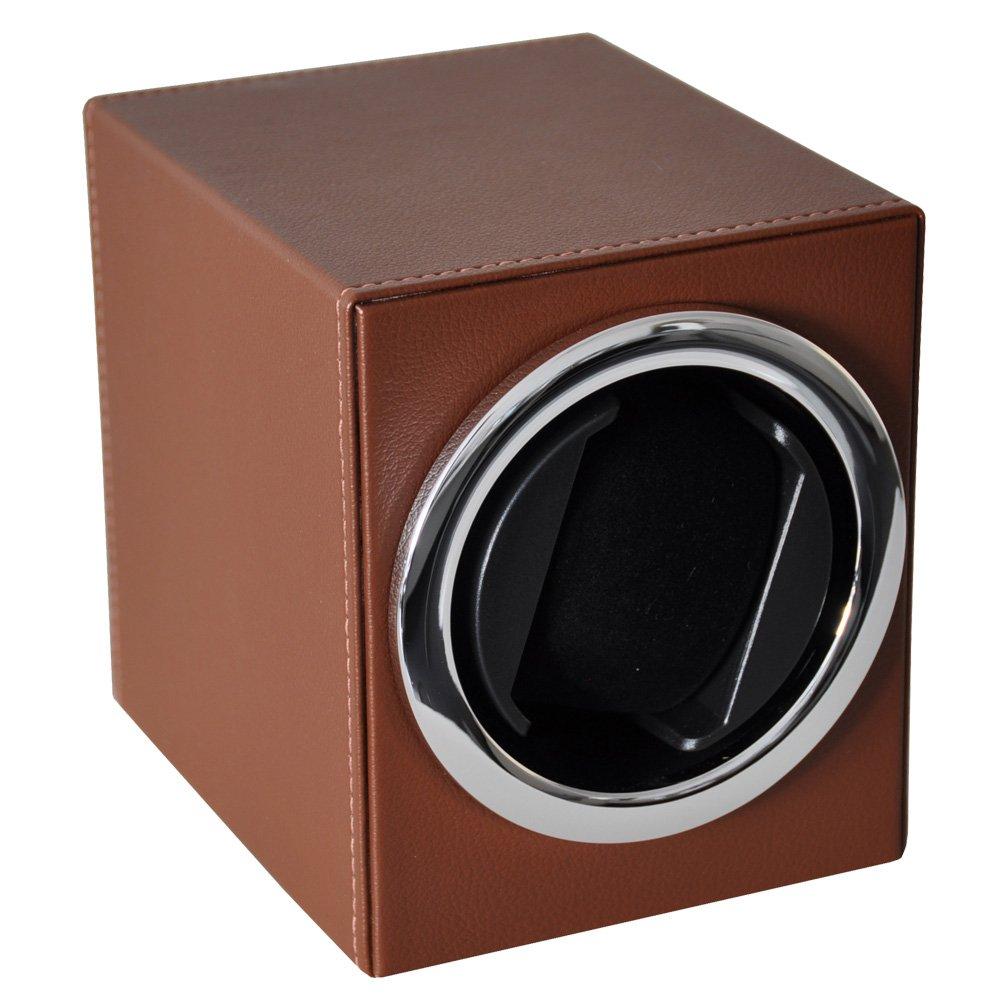 Augusta Uhrenbeweger Leder braun fÜr eine Uhr mit Batteriebetrieb