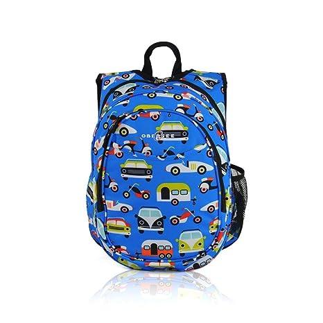 1Pieza Kids Azul Coche Camión mochila, amarillo rojo ...