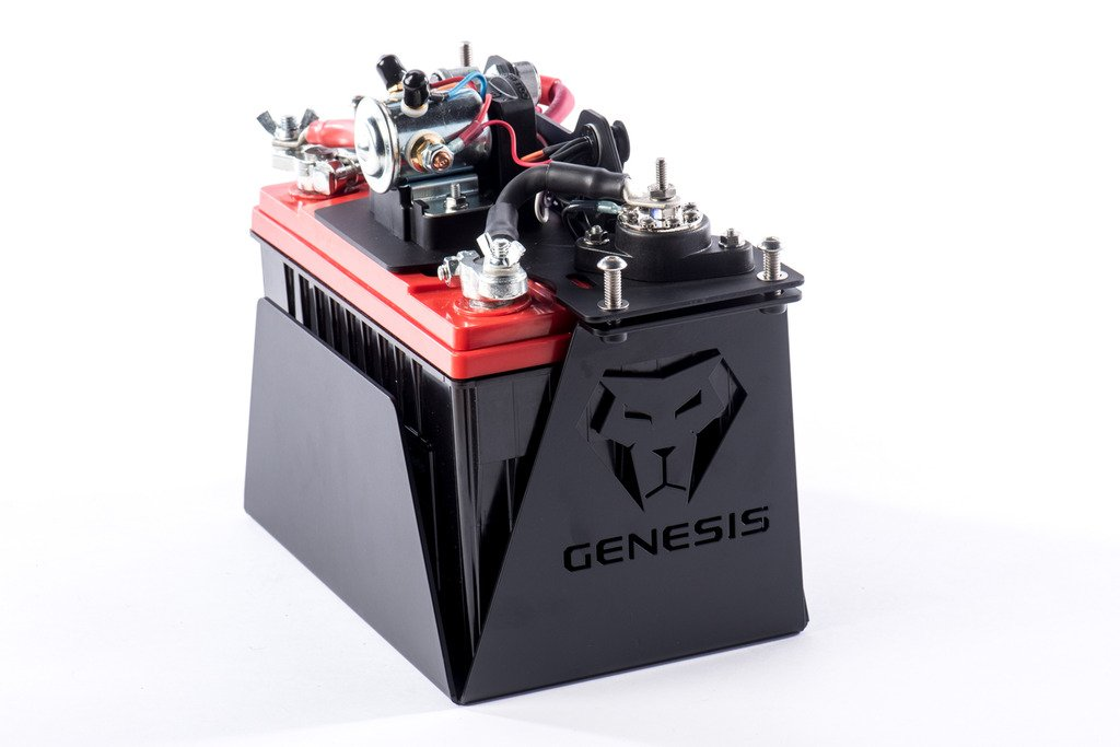 Genesis Offroad Universal Single Battery Kit with Smart Isolator by Genesis Offroad