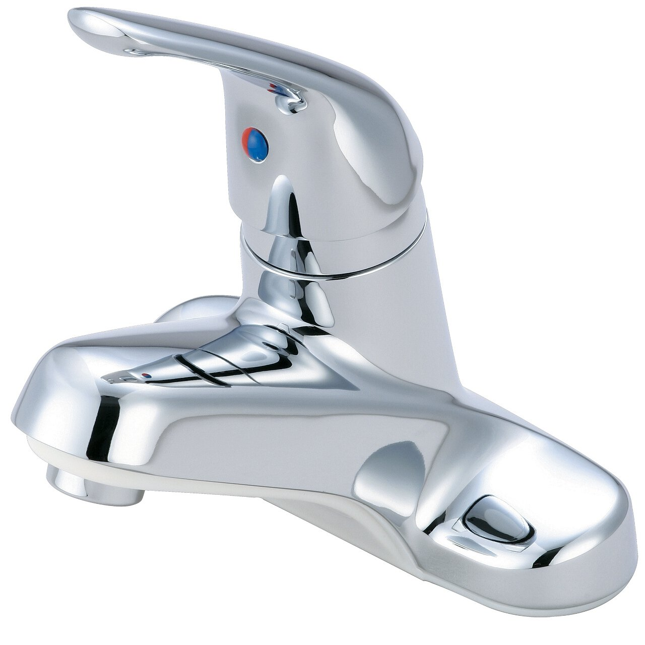 Olympia Faucets L-6161 Single Handle Lavatory Faucet, Chrome Finish ...